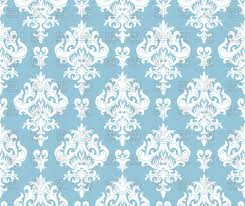 Damask Pattern Free Seamless Blue Damask Pattern Vector Illustration Of Backgrounds