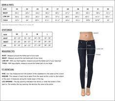 Levi Jean Size Chart Women Bedowntowndaytona Com