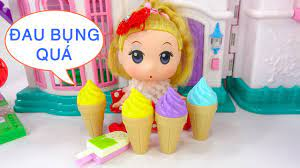 🍦 CHƠI ĐỒ HÀNG Chibi thích ăn kem 🍦 A759T 🍦 Nữ hoàng búp bê 🍦 - YouTube