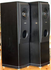 kef tower speakers. stunning pair of kef reference seriesmodel one, 1 loudspeakers. uk only auction. tower speakers