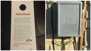 comcast will bolt this box full of their wires onto your house comcast wires