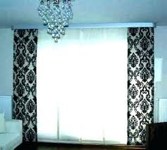 sliding glass door treatments s curtains target