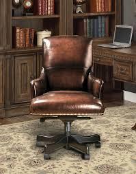 Parker House Prestige DC106BR Leather Desk Chair  Brown Wipe Brown Leather Desk Chair50