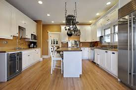 white country kitchen with butcher block. 26 Gorgeous White Country Kitchens (Pictures) Kitchen With Butcher Block