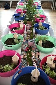 garden craft ideas. gardening club ideas ks2 garden craft fairy crafting table from a party on partyideas for s