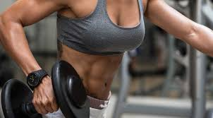 fit woman in the gym