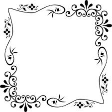 Vintage frame design png High Resolution Big Image png Openclipart Clipart Decorative Vintage Style Frame 16