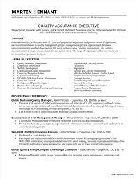 Quality Assurance Manager Resume Objective Resume Resume