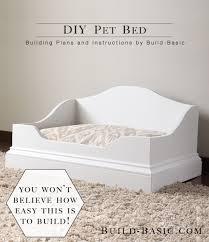 diy pet bed building plans by build basic buildbasic build basic