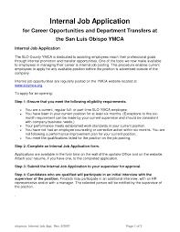Resume Template For Internal Promotion Sample Resume