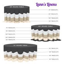 lann s linens 108 round premium tablecloth for wedding banquet restaurant polyester