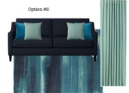 colours work best with black furniture