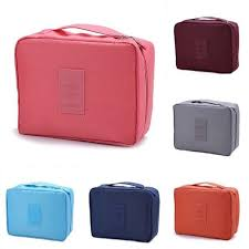 local ready stock travel cosmetic makeup bag organizer pouch beg bags b028