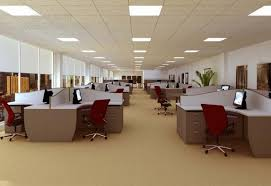 lighting in an office. including computer operations writing telephone communication thinking work exchanges meetings and other office behavior in lighting should an