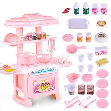 lazada top one mini kitchen toys set pink