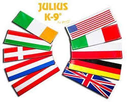 Small National Flag Labels For Harnesses 162lk Nf All