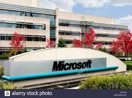 microsoft office in redmond. Sign At The Entrance To Microsoft Head Office Campus In Redmond, Washington, USA Redmond E