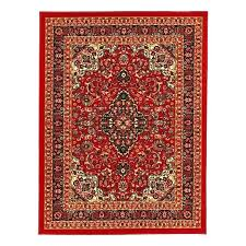 rugs target red area round 4x6