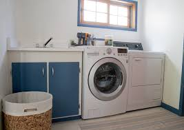 copy cat chic laundry room before 2 chic laundry room