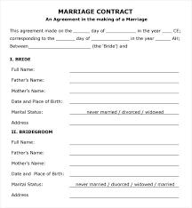 Wedding Photography Contract Template Bonsai Destination Example