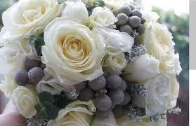 grey white wedding flower box diy