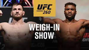 UFC 260: Live Weigh-in Show - YouTube