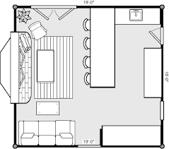 Colonial Home With 2Story Family Room  32562WP  Architectural Family Room Floor Plan