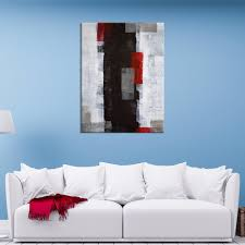 wall art abstract white black and red canvas print mygreatcanvas com extra large wall art wall art print large world map canvas print gallery