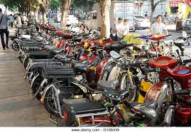 Image result for electric motorcycle in china street