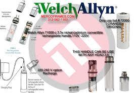 Learning Center Welch Allyn 71000 C 3 5v Nickel Cadmium