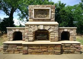 outside stone fireplace outdoor fireplace kits masonry fireplaces pertaining to stone designs grill stone fireplace designs