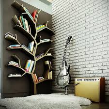 book tree and guitar image on cool wall art ideas with interior beautify the design of interior home with unique wall art
