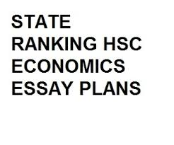 hsc economics essay plans by state rankers