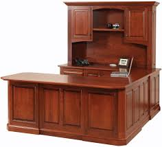 wrap around office desk. u shaped executive office desks countryside amish furniture cavalier ushaped desk wrap around r
