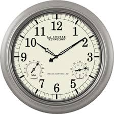 la crosse 18 indoor outdoor atomic wall clock wt 3181pl