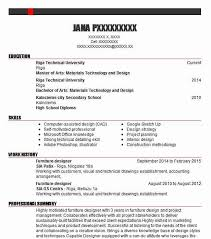 Designing furniture covers every step in the design process from inspiration to construction. Furniture Designer Resume Example Designer Resumes Livecareer