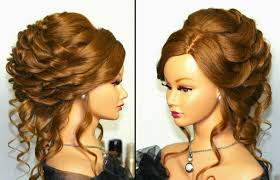 Wedding Hair Style Picture Romantic Bridal Wedding Hairstyle For Long Hair Tutorial Youtube 3405 by wearticles.com