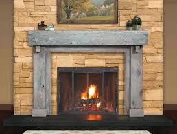 smlf wood fireplace mantels surrounded stone