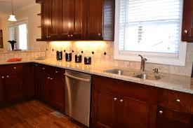 Cherry Wood Kitchen Cabinets Cherry Kitchen Cabinets And Granite Countertops Kitchen Homes