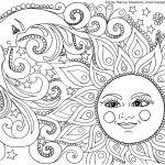 Small Picture Sun And Moon Coloring Pages fablesfromthefriendscom