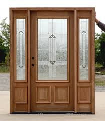 Decorating wood front entry doors with sidelights images : Doors for Homes unfinished raw wood