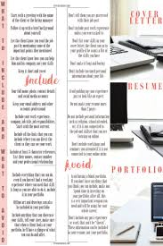The Difference Between Cover Letters, Resumes And Portfolios ...