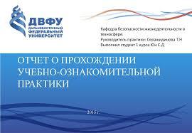 Отчет о прохождении учебно ознакомительной практики online  Отчет о прохождении учебно ознакомительной практики