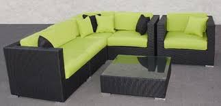 green wicker furniture cushions. awesome wicker furniture cushions with green chusions and black rattan u