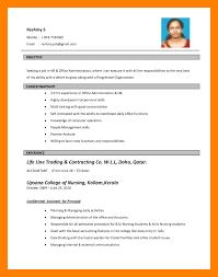 Bio Data Formate Biodata Format For Teacher Job Bio Data 4 El Parga