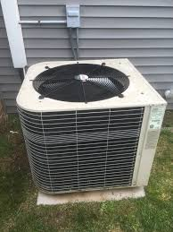 lennox condenser. wethersfield, ct - performance tune up on lennox ac split system and condenser fan motor n