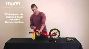 "MUNA - <b>12</b>"" <b>Push Bike</b> Assembly ""How To"" Video - YouTube"
