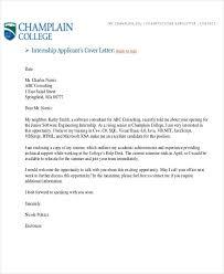Cover Letter For Internship Software Engineer Remarkable Sample