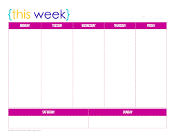 Weekly Calendars To Print 2015 Free Printable Daily Calendar With Time Slots May 2019 Uk