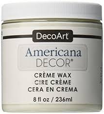 Small Picture Deco Art Americana Decor Creme Wax 8 Oz Clear Amazoncouk